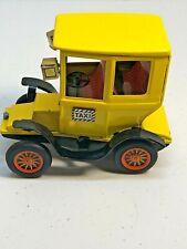 "Vintage Bandai Tin Friction Car 5"" Taxi made in Japan"