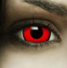 "Maxi Sclera Lenses ""Volturi"" rote Kontaktlinsen Crazy Farbige Halloween Linsen"