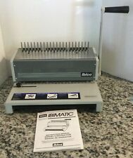 Ibico Ibimatic Heavy Duty Manual Binding Punch Machine With Instruction Manual