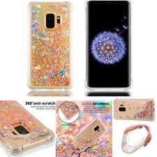 Anti Fall Glitter Stars Dynamic flash Bling Liquid Quicksand soft phone case #2