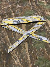 New Yellow/Grey Snake Stripe Sandana Owners Club (SOC) Headband! Luxe Eclipse
