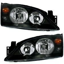 Scheinwerfer Ford Mondeo MK3 00-07 in Schwarz links + rechts III Set Halogen Neu