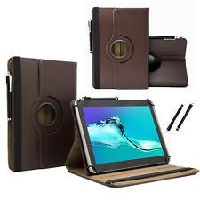 """Schutzhülle für Samsung Galaxy Tab 2 P5110 Tablet Case 10.1"""" 360 Braun"""