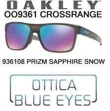Occhiali da Sole OAKLEY CROSSRANGE OO 9361 08 Sunglasses 936108 PRIZM SNOW NEW
