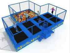 990 sqft Trampoline Foam Ball Pits We Finance inflatable Commercial 34'x29'x8.5'