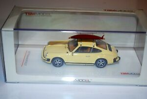 TSM MODEL 1/43 Porsche 911S 2.7 w / surfboard finished product Brand new