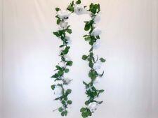 Roses Garland Artificial Silk Flowers 5.5 ft Vine 335