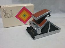 Vintage Polaroid SX-70 Land Camera w/ Box USA NICE!