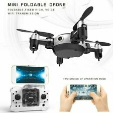 Wireless Mini Wifi RC Quadcopter With 0.3MP Camera Foldable 4-Axle Drone Toy USA