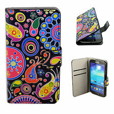 Leather Wallet Magnetic Cover Case Stand Pouch For Samsung Galaxy S4 SIV i9500