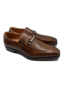 Stacy Adams Pierce Cognac Mens Dress Shoes Size 9 M