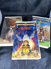 Warner Bros. Cartoon VHS Trilogy: Lord Of The Rings, Hobbit, Return of the King