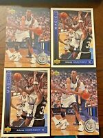 1993-94 Upper Deck Anfernee Penny Hardaway Rookie LOT of 4 Orlando Magic