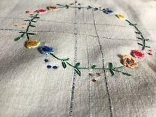 Vintage Hand Embroidered Centrepiece/Mat