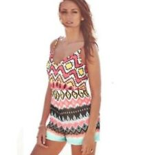 BNWT LIPSY Michelle Keegan Tribal aztec Playsuit.Beach,holiday, size 6 asos