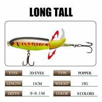 Fishing Bait Lure Wobbler 10cm-15g , 14cm-35g Minnow Plastic Artificial Wobbler