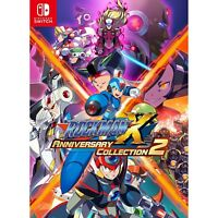 Rockman X Anniversary Collection 2 NINTENDO SWITCH JAPANESE IMPORT REGION FREE