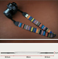 Retro Vintage style Camera Neck Strap For NEX PEN LUMIX NX EOS-M FUJI Camera No7