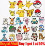 Japanese Pokemon Pikachu movie Pocket Monsters Ball Patch Badge Iron On Sew On