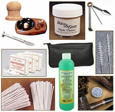 Smoking Pipe Accessory & Cleaning Kit w/ Tobacco Pouch, Sweetener, Knocker 1157K