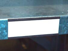 100 Magnetschilder 8cm x 3cm Lagerbeschriftung Lagerkennzeichnung Magnetstreifen