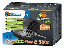 SF Pond ECO Plus E 5000 Filter - und Bachlaufpumpe - nur 22 W