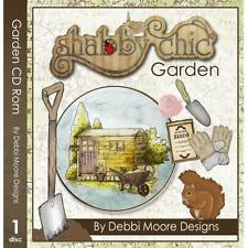 1 x Debbi Moore Designs Shabby Chic Garden CD Rom (294999)