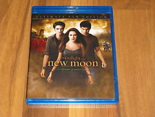 The Twilight Saga: New Moon (Blu-Ray, 2010, Ulitmate Fan Edition) Blu-Ray Only