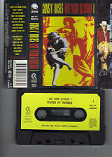 GUNS N' ROSES use your illusion I CROATIAN 1991 CASSETTE