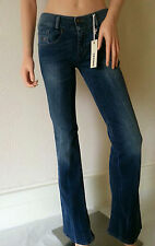 DIESEL WOMENS JEANS STRETCH COL.01 SIZE W 27 L32 - LOUVELY SLIM-BOOTCUT