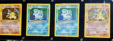 Holographic Charizard and Blastoise Pokemon Cards 5000 each