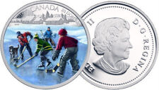 2014 $20 1oz .9999% Pure Fine Silver Coin - Pond Hockey