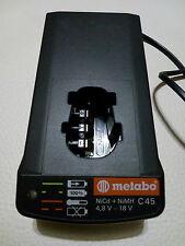 METABO C 45 Ladegerät für Akku 4,8 bis 18V, Defekt