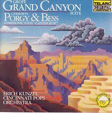 GRAND CANYON Grofe - GERSHWIN Catfish Row - Porgy & Bess CD - New Telarc Japan