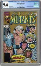 New Mutants #87GOLD CGC 9.6 1991 2104410016 1st full app. Cable