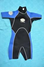Spring WETSUIT Adrenalin Aquasport SURF Boys Size 10yrs Black/Blue GR8 Condition