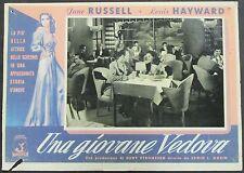 Una Giovane Vedova - Russell & Hayward - Locandina Film Poster Plakat (Y-4555+