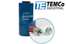 TEMCo Hollow Hydraulic Cylinder Ram 20 TON 4 In Stroke 5 YEAR Warranty