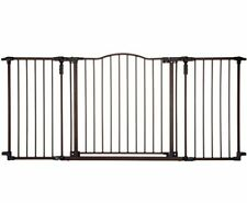 Extra Long Gate Large Decor Metal Swing Porch Baby Kid Safety Home Office Pet US