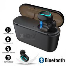 Écouteur étanche mini casque sans fil Bluetooth 5.0 basse TWS pour IOS Android