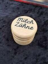 6x Milchzahndose - Holzdose - Milchzähne - Goki