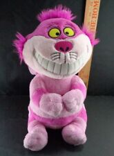Disney Store Alice Wonderland Cheshire Cat chesire sitting plush Stuffed toy 12""