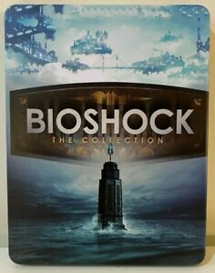 """BioShock: The Collection Steelbook Case PS4/XBOX (NO GAME) """"CUSTOM"""""""