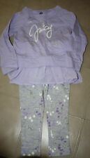 Juice Couture Long Sleeve Set Toddler Girls Size 24 Months