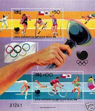 CHILE, XXIV OLYMPIC GAMES SEOUL 1988, BLOCK N° 41, MNH