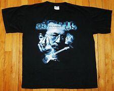 Vintage 90s Eric Clapton Black 1998 World Tour Concert T Shirt Adult Sz Xl