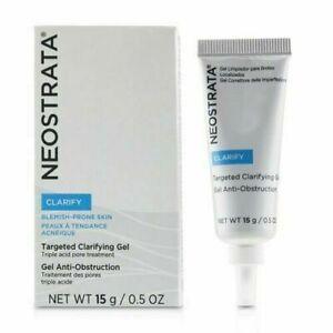 NeoStrata Clarify Targeted Clarifying Gel exfoliating 0.50 oz / 15 ML New in Box