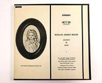 MOZART Ascanio In Alba, K. 111 Serenade - Cilario Cond., MHS 3 LP Vinyl Records