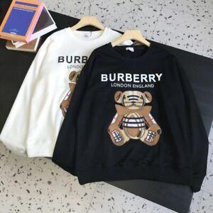 Burberry 21SS Bear appliqué embroidered crew neck sweatshirt