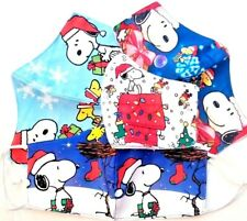 2 pack HANDMADE FASHION FACE COVER MASK ADULT Christmas Snoopy Peanuts Charlie B